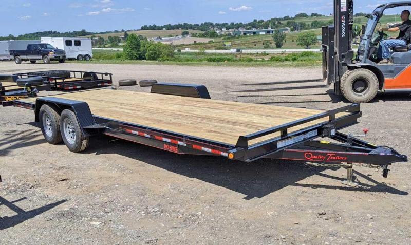 NEW 2021 Quality 24' HD PRO Car Hauler w/ NO DOVE (SIDE BY SIDE TRAILER)