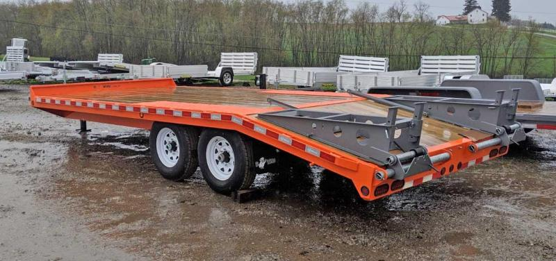 NEW 2020 BWise 15+5 Deckover Tagalong Trailer w/ 5' Wedge Ramps