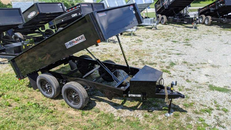 NEW 2022 Bri-Mar 6x10 Deckover Dump Trailer