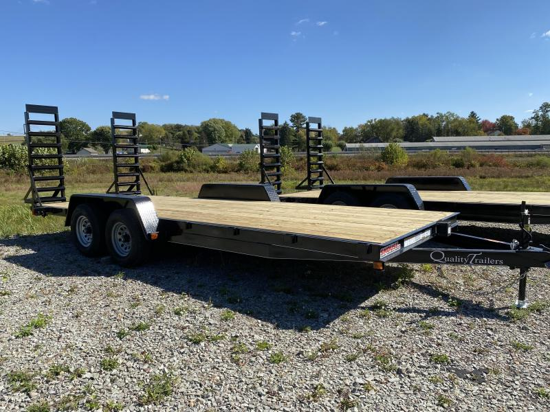 NEW 2021 Quality 20' Econo Equipment Hauler w/ No Dove