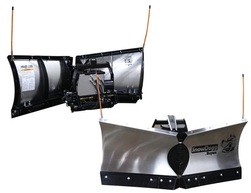 NEW 2020 SNOWDOGG 6.5' UTV Stainless Steel V-Plow