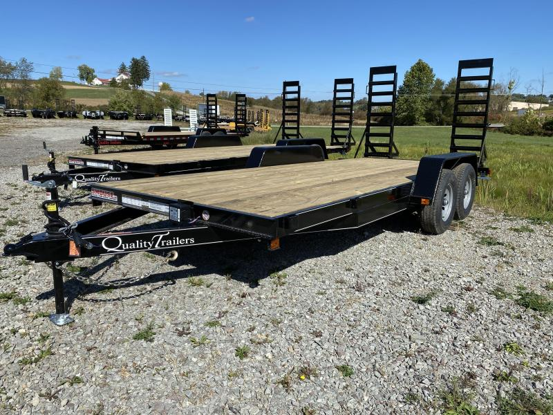 NEW 2021 Quality 18' Econo Equipment Hauler w/ No Dove