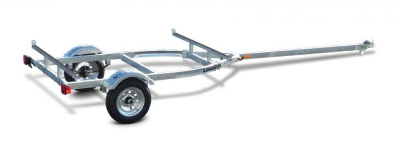 NEW 2021 Load Rite (2) Place Kayak Trailer