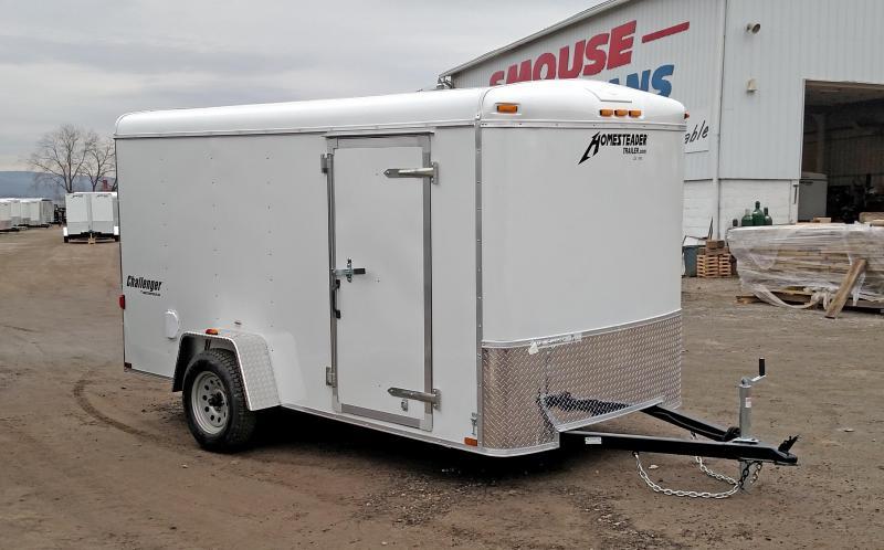 COMING SOON!!! NEW 2021 Homesteader 6x12 Challenger Cargo Trailer w/Barn Door