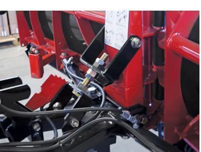 NEW HINIKER 9.5' Torsion Trip Poly V-Plow w/ Curb Guards & Wear Bars