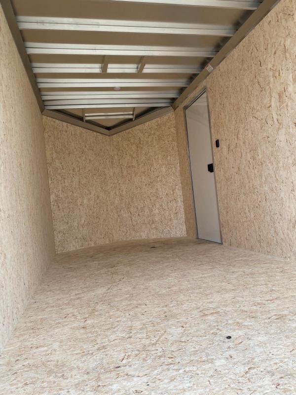 "NEW 2022 ATC 7x14 RAVEN ""LIMITED"" w/ 2' Slant Wedge Nose Aluminum Cargo Trailer w/ Rear Ramp Door"