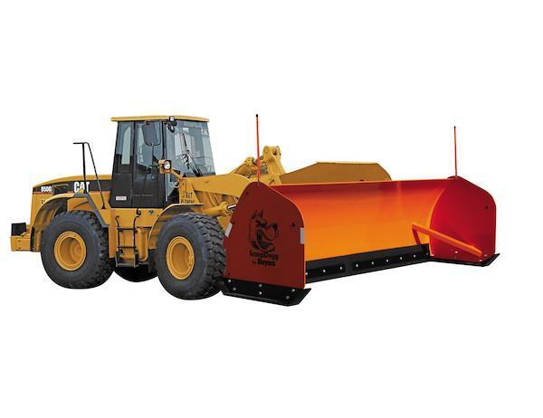NEW SCOOPDOGG 12' LOADER PUSHER SAFETY ORANGE