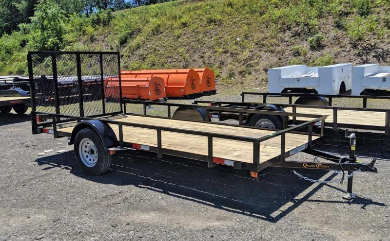 NEW 2021 Quality 7x14 General Duty Utility Trailer