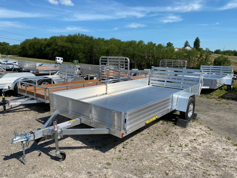 "NEW 2021 Aluma 6'9"" x 14' SR ALUMINUM Utility w/ Side Ramps"