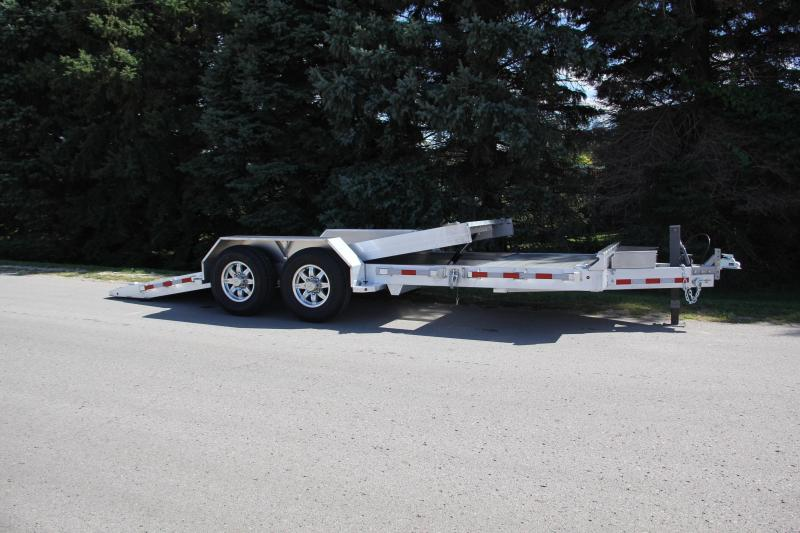 NEW 2022 Aluma 20' HD (4' Stationary + 16' Tilt) Split Tilt Trailer (14000# GVW)