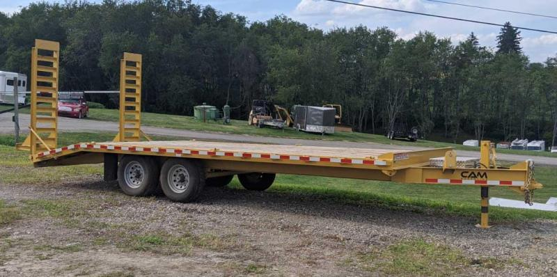 USED 2019 CAM 18+4 Deckover Tagalong w/ 6' Angle Ramps