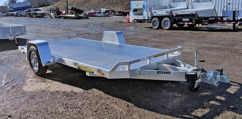 "NEW 2021 Aluma 6'10"" x 14' HD Single Axle Utility Trailer w/ Underbody Ramps"