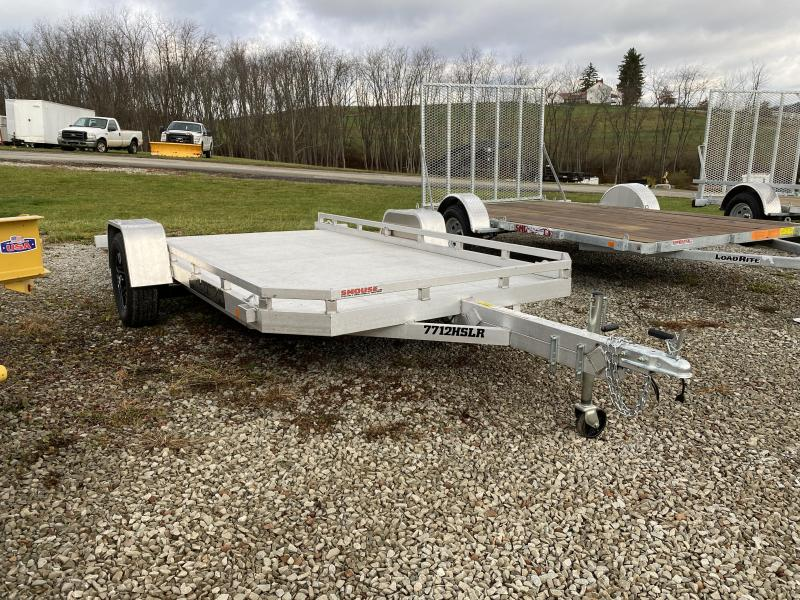 "USED 2021 Aluma 6'6"" x 12 HD Utility w/ Slide Out Ramp"