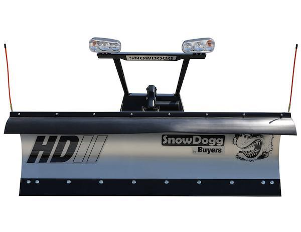 NEW 2020 SNOWDOGG 7.5' HD Stainless Steel Snow Plow