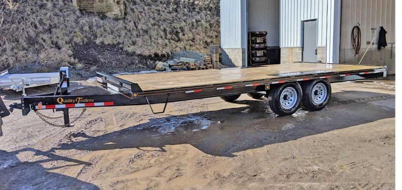 NEW 2021 Quality 20' General Duty Deckover FLAT DECK- NO RAMPS