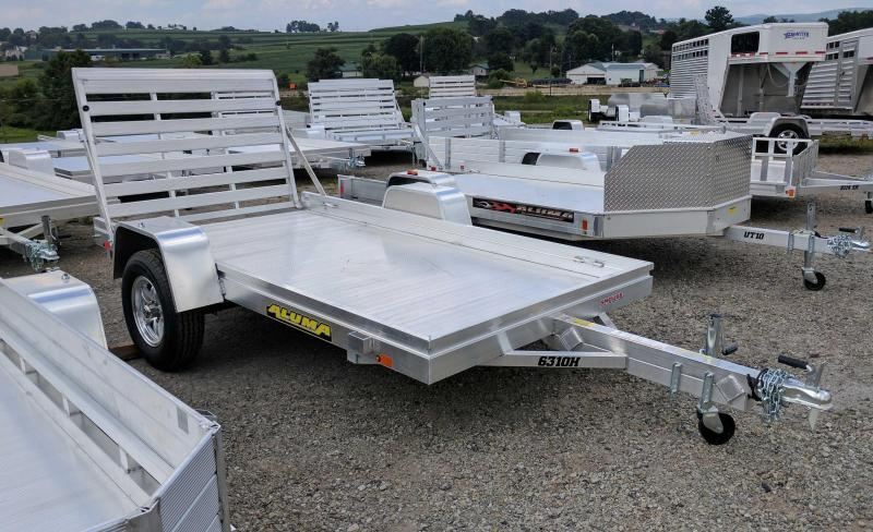 "NEW 2022 Aluma 5'3"" x 10 HD Utility Trailer"
