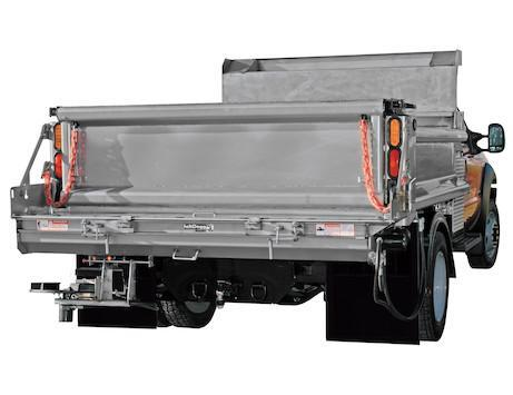 """NEW Saltdogg 96"""" Hydraulic Under Tailgate Stainless Steel Spreader - Standard Discharge (Only 1 in Stock!)"""