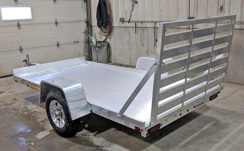 "NEW 2021 Aluma 5'3"" x 10 LW Utility w/ 13"" Aluminum Wheels"