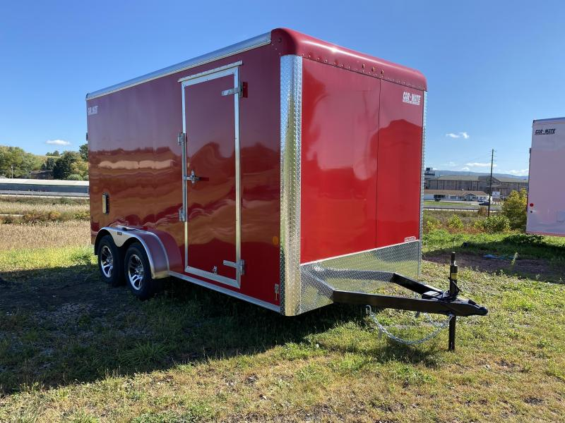 NEW 2021 Car Mate 7x14 HD Custom Cargo Trailer w/ Ramp Door (7' Inside)
