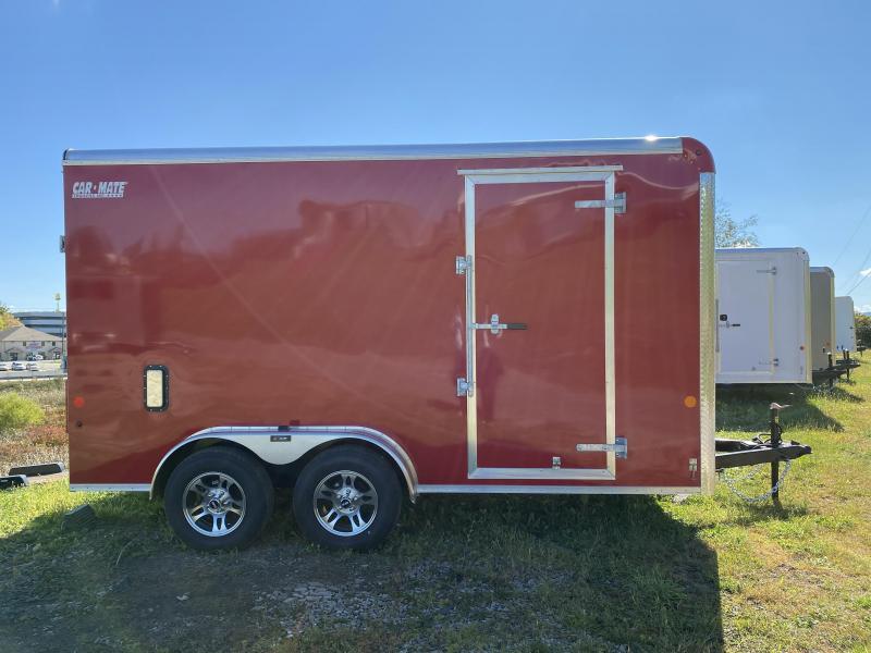 NEW 2021 Car Mate 7x14 HD Custom Cargo Trailer w/ Ramp Door (7' Inside)