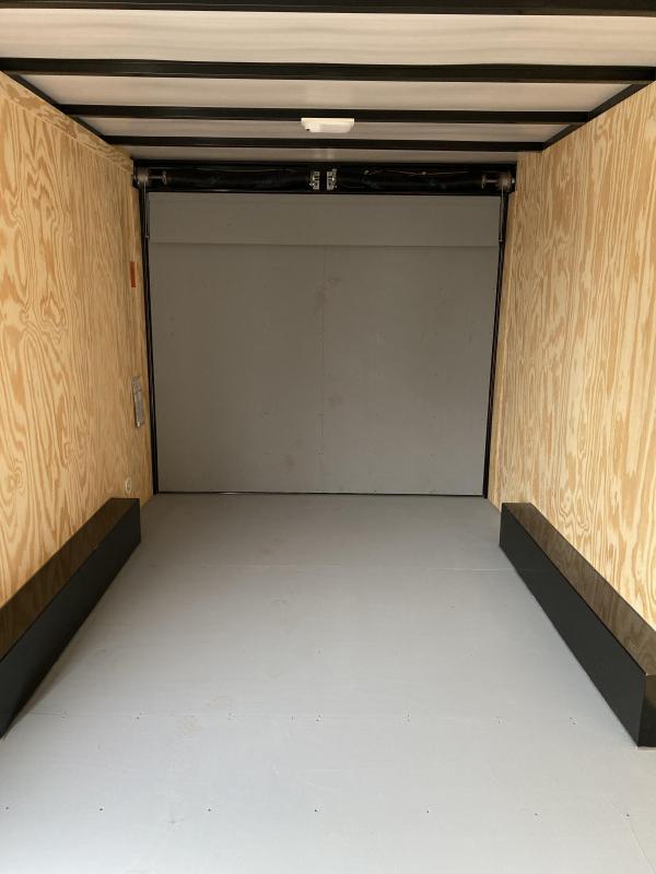 NEW 2021 Car Mate 8x16 HD Custom Cargo Trailer w/ Ramp Rear Door