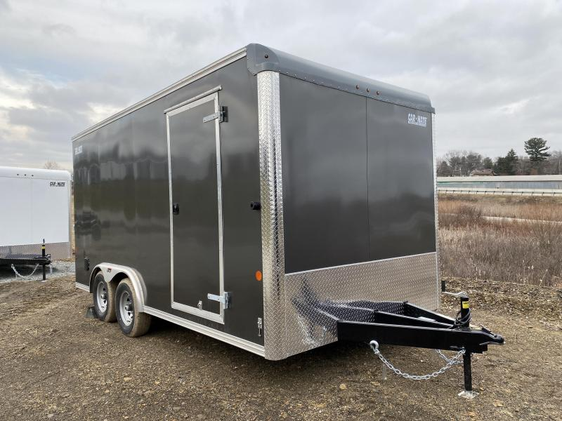 NEW 2021 Car Mate 8x16 HD Custom Cargo Trailer w/ Ramp Rear Door