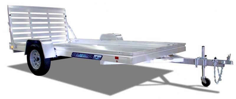 "NEW 2022 Aluma 6'6"" x 10 Edge Series Utility Trailer (JUST ARRIVED!)"