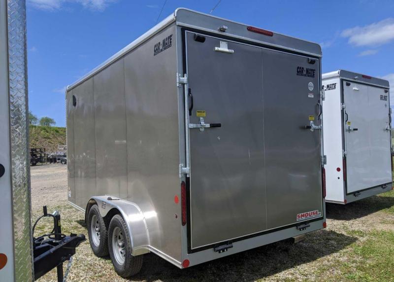 "NEW 2020 Car Mate 7x14 HD Custom Cargo Trailer w/ Ramp Door (12"" Add'l Hgt)"