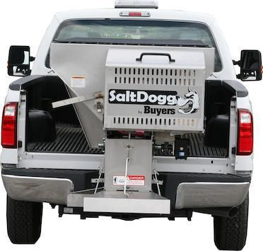 NEW 2020 SALTDOGG 2.0 Cu Yd (8') Stainless Steel Hopper Spreader w/ Extended Chute