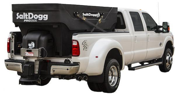 NEW 2020 SALTDOGG 2.5 CU YD PRO POLY HOPPER SPREADER