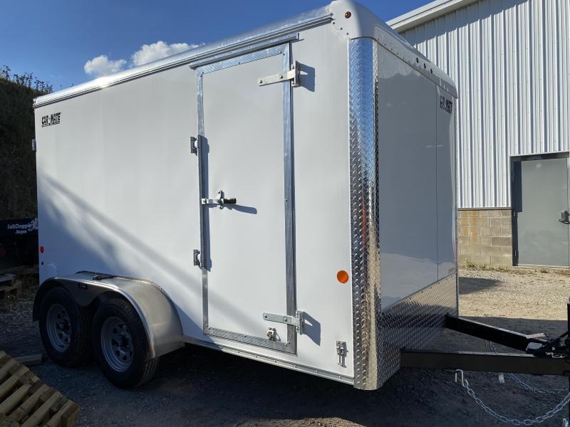 NEW 2021 Car Mate 6x12 HD Tandem Custom Cargo Trailer w/ Rear Barn Doors
