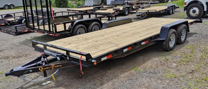 NEW 2021 Quality 20' General Duty Car Hauler w/ No Dove