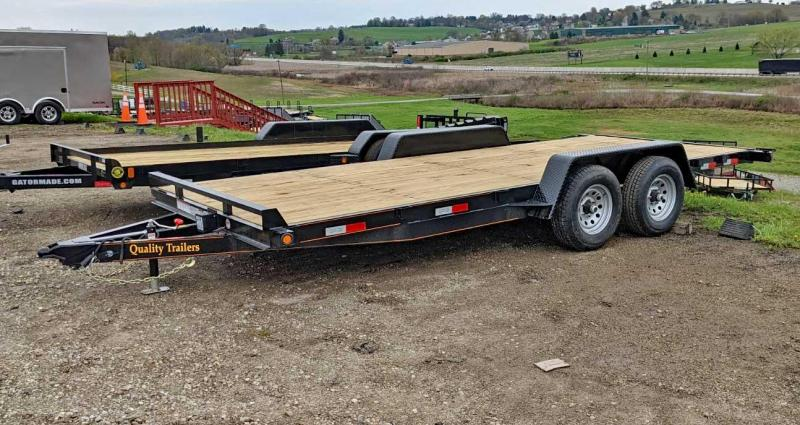 NEW 2021 Quality 18' HD General Duty Car Hauler w/ NO DOVE
