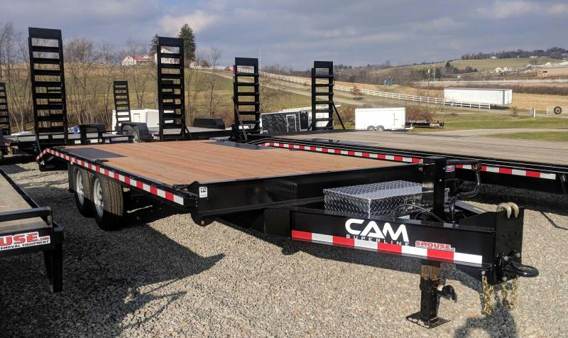 NEW 2020 CAM SUPERLINE 18+4 HD Deckover Tagalong Trailer (8k Axles)