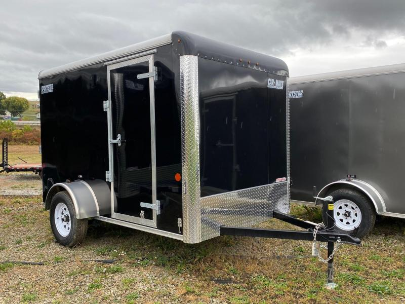 NEW 2021 Car Mate 6x10 Sportster Cargo Trailer w/ Ramp Door