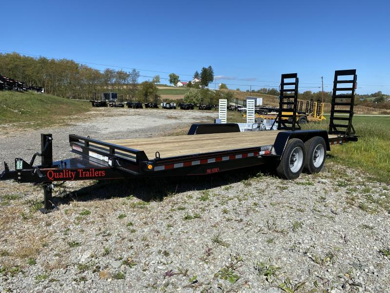 NEW 2021 Quality 18' PRO Equipment Hauler w/  5' Stand Up Ramps