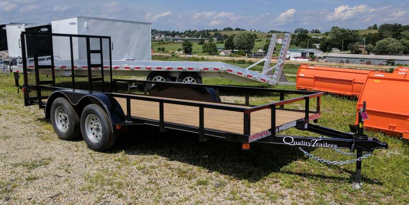 NEW 2021 Quality 6x16 Econo Utility Trailer w/ No Dove