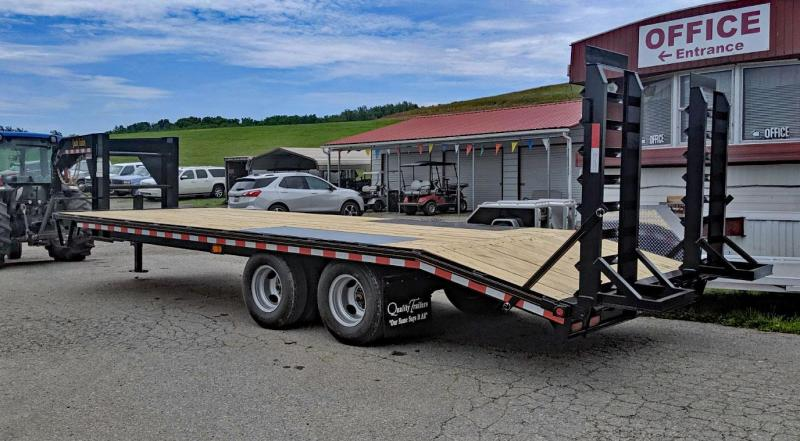 NEW 2020 Quality 20+4 General Duty Deckover Gooseneck Equipment Trailer
