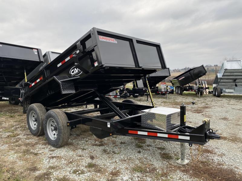 NEW 2021 CAM 6x10 Lo Pro Equipment Dump Trailer