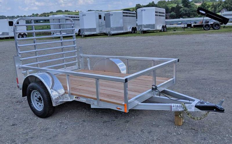 NEW 2021 Legend 5x8 Open Deluxe Aluminum Trailer