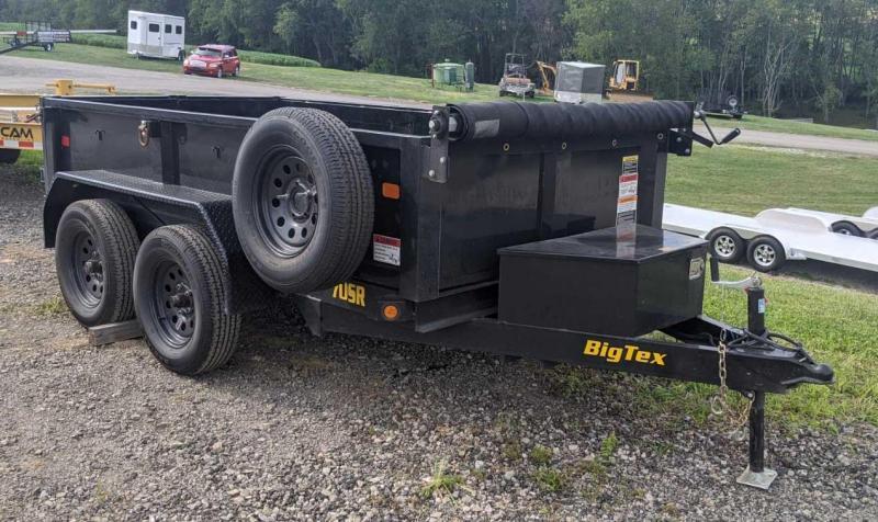 USED 2020 Big Tex 5x10 Tandem Dump w/ Barn Door Gate