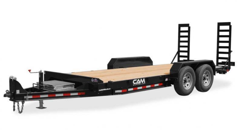 NEW 2022 CAM Superline 20' Channel Frame Equipment Hauler