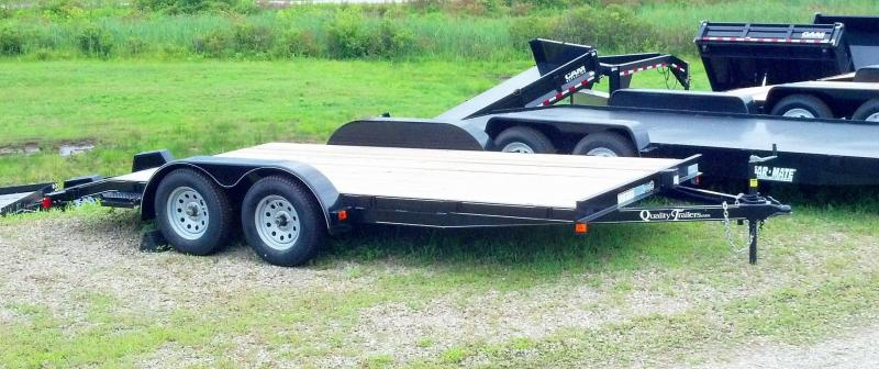 NEW 2021 Quality 16' Econo Car Hauler w/ No Dove