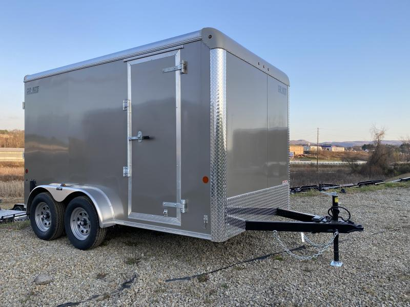 NEW 2021 Car Mate 7x12 HD Custom Cargo Trailer w/ Ramp Door