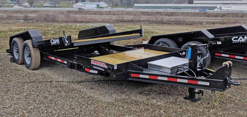 NEW 2020 CAM 20' (4+16) Lo Pro Split Tilt Trailer