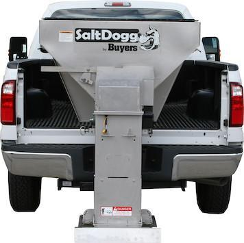 NEW 2020 Saltdogg 2.0 Cu Yd Stainless Steel Electric Hopper Spreader
