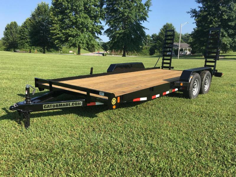 NEW 2021 Gator Made 18' Lo Pro Equipment Hauler (9990# GVW)