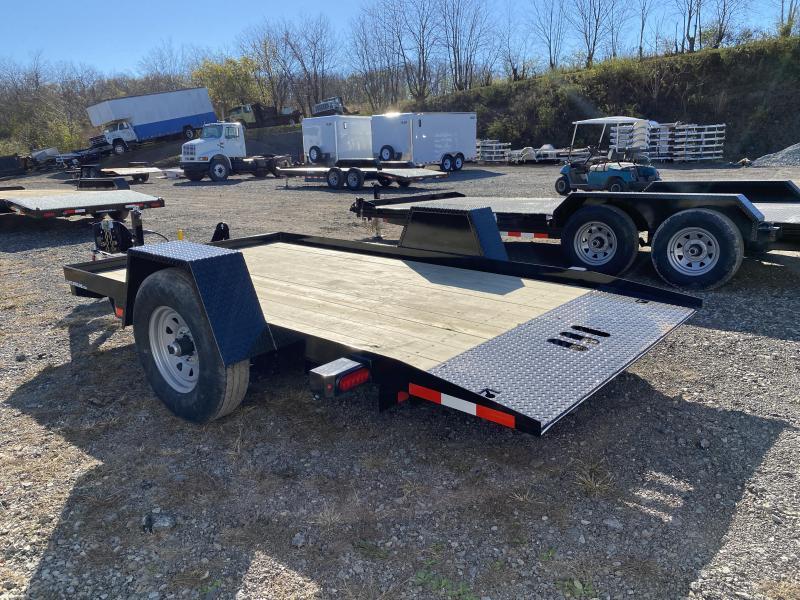 NEW 2021 CAM 6x12 Single Axle Tilt Trailer