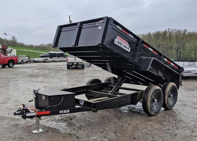 NEW 2021 Bri-Mar 6x10 Lo Pro Equipment Dump w/ Underbody Ramps