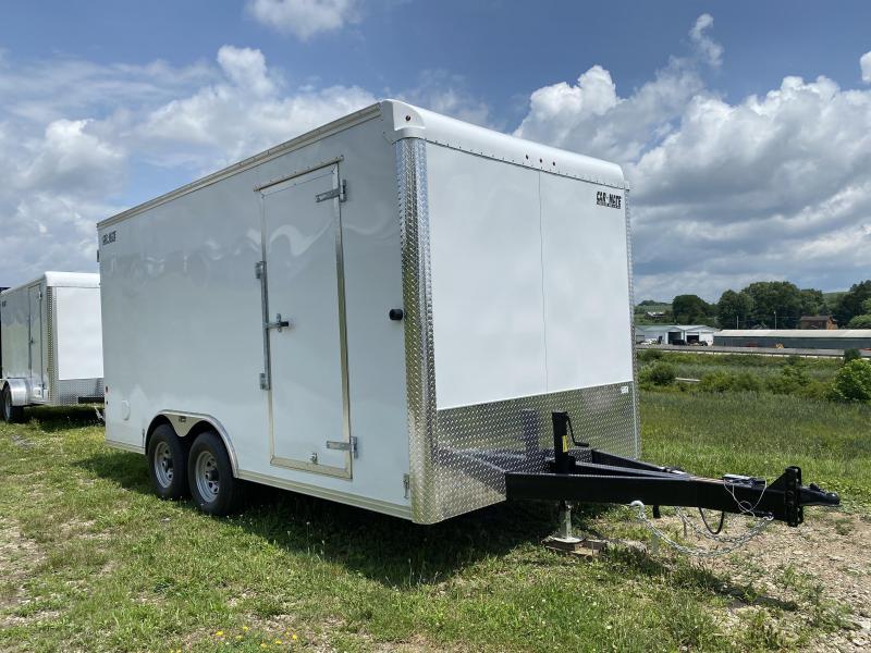 NEW 2021 Car Mate 8x16 HD Custom Cargo Trailer w/ Barn Doors